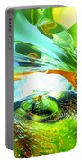 Envious Thoughts Abstract Portable Battery Charger