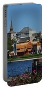 Epcot China And Norway Portable Battery Charger