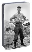 Ernie Pyle (1900-1945). American Journalist. Photograph, C1942 Portable Battery Charger