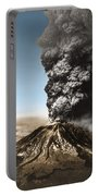 Eruption Of Mount St. Helens Portable Battery Charger
