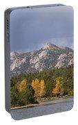 Estes Park Autumn Lake View Vertical Portable Battery Charger