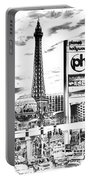 Etched Vegas Portable Battery Charger