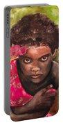 Etiopien Girl Portable Battery Charger