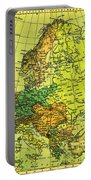 Europe Map Of 1911 Portable Battery Charger