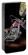 Evel Knievel Harley-davidson Chopper Portable Battery Charger