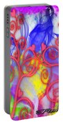 Even In Chaos Find Love Portable Battery Charger