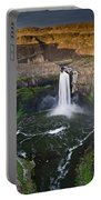 Evening At Palouse Falls Portable Battery Charger