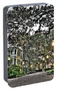 Evening Campus Stroll Portable Battery Charger