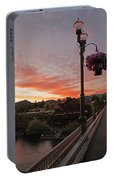 Evening Color Over Taprock Portable Battery Charger