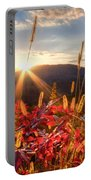 Evening Fire Portable Battery Charger