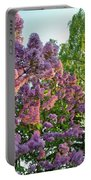 Evening Lilac Portable Battery Charger