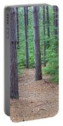 Evergreen Forest Portable Battery Charger