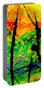 Extreme Ecstasy Portable Battery Charger by Angela L Walker