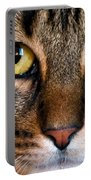 Face Framed Feline Portable Battery Charger