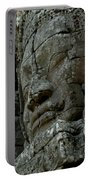 Face Of Stone Portable Battery Charger