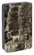 Faces Of Banyon Angkor Wat Cambodia Portable Battery Charger