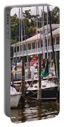 Fairhope Yacht Club Sailboat Masts Portable Battery Charger