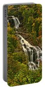 Fall At Whitewater Falls  Portable Battery Charger