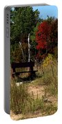 Fall Bench Dreams Portable Battery Charger