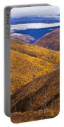 Fall Colours Along Top Of The World Portable Battery Charger
