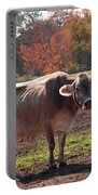 Fall Cow Portable Battery Charger