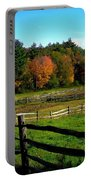 Fall Field - Greeting Card Portable Battery Charger