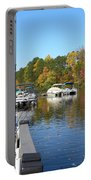 Fall Fishing Break Portable Battery Charger