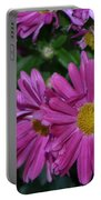 Fall Flowers In Bloom Portable Battery Charger