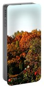 Fall Foliage And Roses Portable Battery Charger