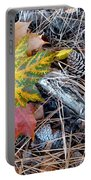 Fall Forest Floor Portable Battery Charger