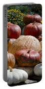 Fall Harvest Colorful Gourds 7965 Portable Battery Charger