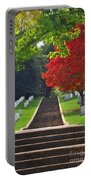 Fall In Arlington Cemetery  Portable Battery Charger
