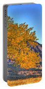 Fall In The Flatirons Portable Battery Charger