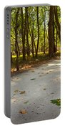 Fall In The Park Portable Battery Charger