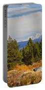 Fall In The Sierra Portable Battery Charger