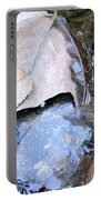 Fall Leaf Abstract Portable Battery Charger