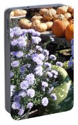 Fall Medley Portable Battery Charger