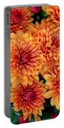 Fall Mums Portable Battery Charger