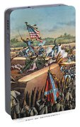 Fall Of Petersburg, 1865 Portable Battery Charger