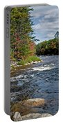 Fall On Swift River Portable Battery Charger