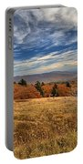 Fall On Whitetop Mountain Portable Battery Charger