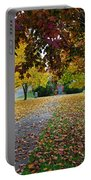 Fall Park Portable Battery Charger