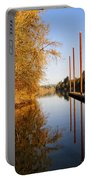 Fall Pier Portable Battery Charger