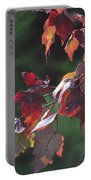 Fall Red Portable Battery Charger