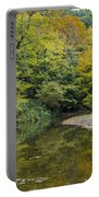 Fall Reflection Pool Portable Battery Charger