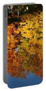 Fall Reflectionsin Michigan Portable Battery Charger