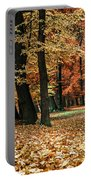 Fall Scenery Portable Battery Charger