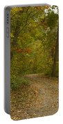Fall Trail Scene 22 Portable Battery Charger