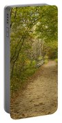 Fall Trail Scene 23 Portable Battery Charger