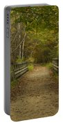 Fall Trail Scene 24 Portable Battery Charger
